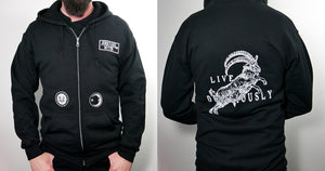 Live Deliciously Hoodie