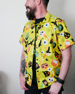 Trick or Treat Button-up Shirt