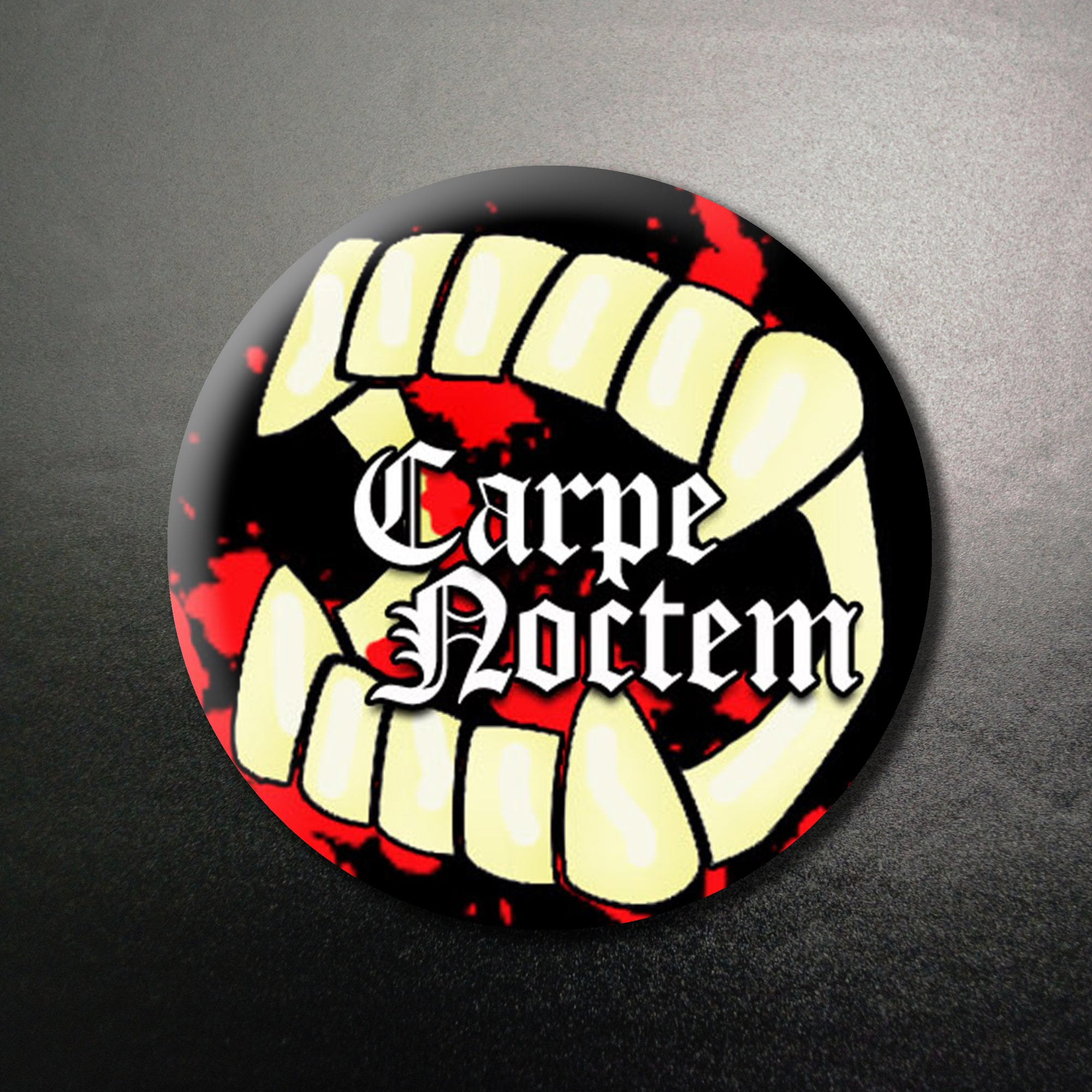 Carpe Noctem 1.25 inch Pinback Button or Magnet