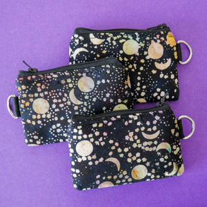 Celestial Paint Night Coin Purse
