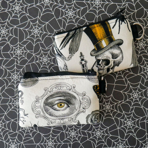 Haunted Halloween Coin Purse