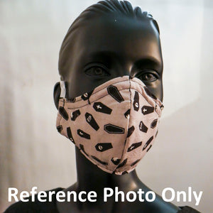 Shark Time Face Mask - Adult - Reversible