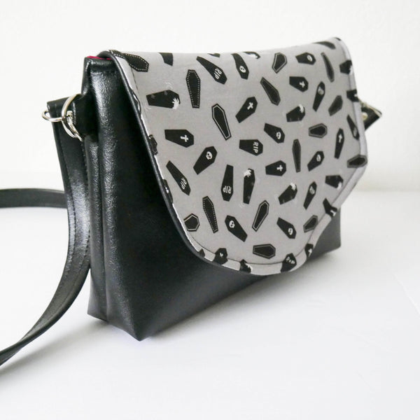 Dead and Still Goth Flapover Purse