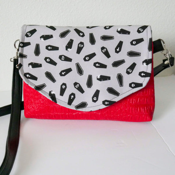 Kiss of the Dead Flapover Purse