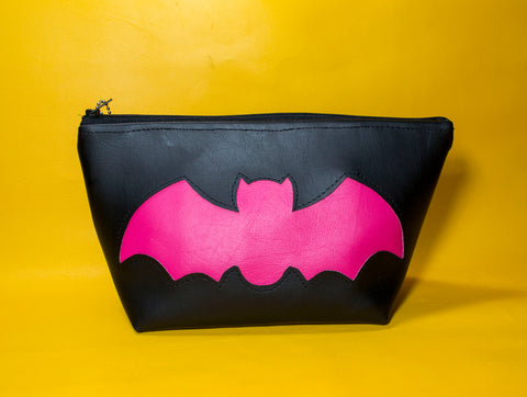 Sweetheart Goth Bat Pouch