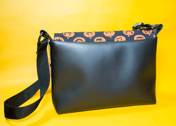 Kids Pumpkin Flapover Purse