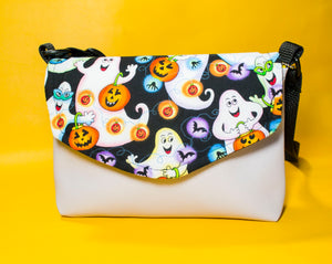 Kids Ghost Party Flapover Purse