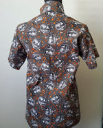 Load image into Gallery viewer, Spooky Jack o' Lantern Button Up Shirt