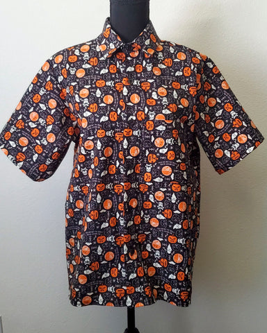 A Spooky Star Wars Halloween Button Up Shirt