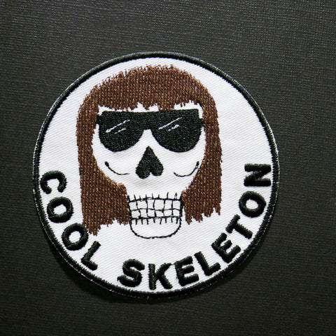 Not Scary but Cool Skeleton Patch