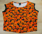 Load image into Gallery viewer, Jacks in Pumpkin Patch Top M/L