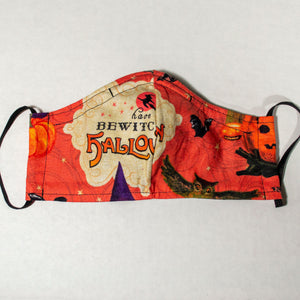 Vintage Halloween #1 Face Mask - Adult