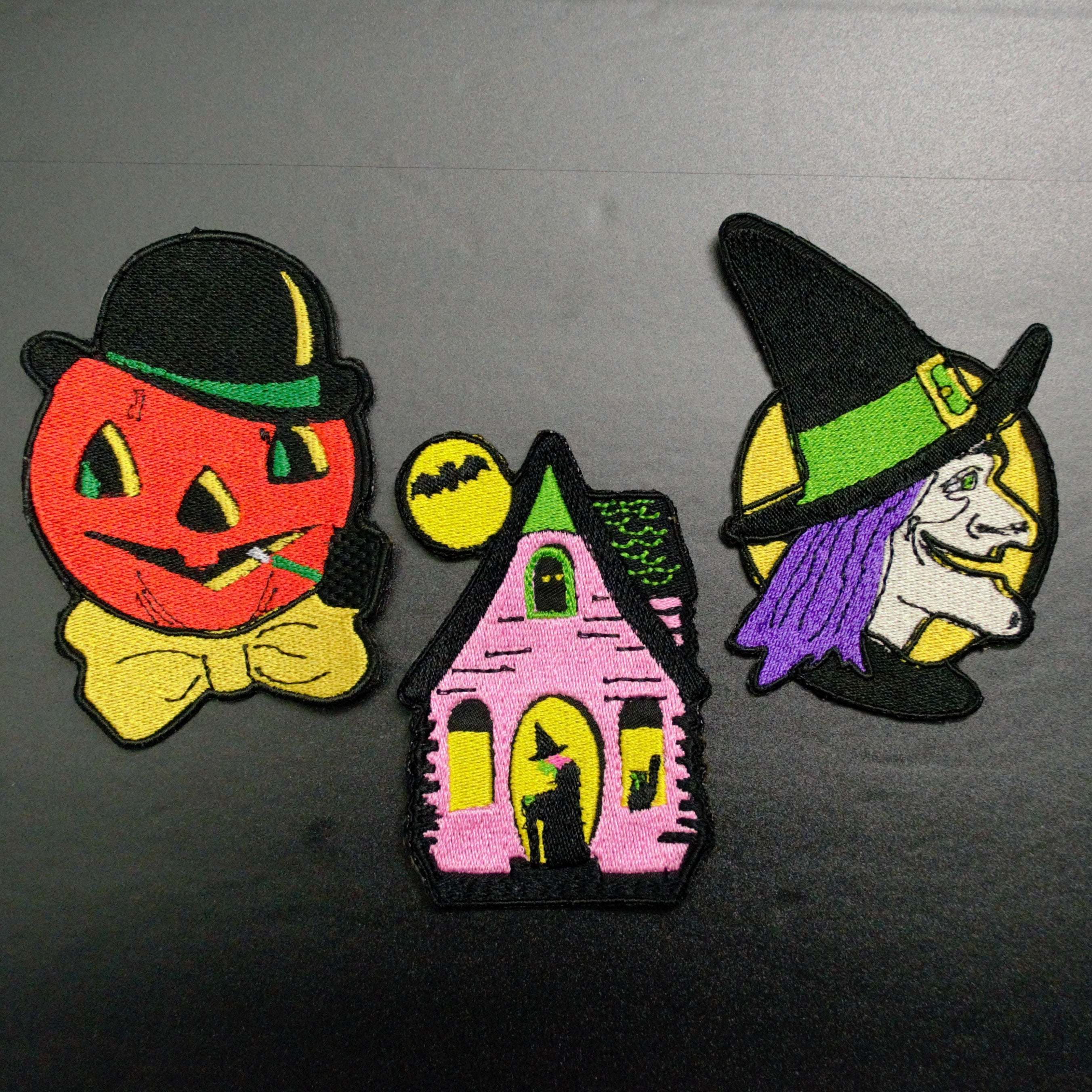 halloween decor vintage cutout patches