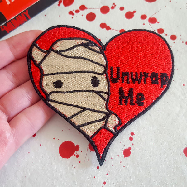 Monster Valentine's Day Patches