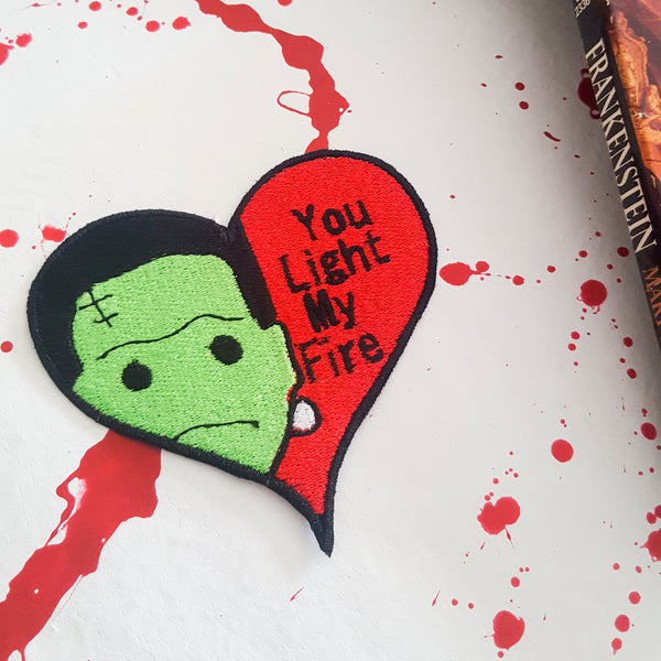 Monster Valloween Patches