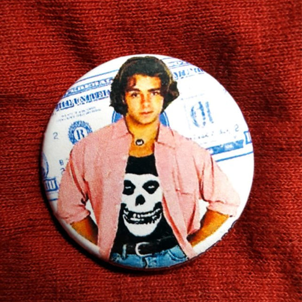 Joey Lawrence Misfit 1.25 inch Pinback Button or Magnet