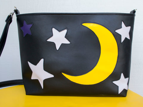 Midnight Skies Medium Tote