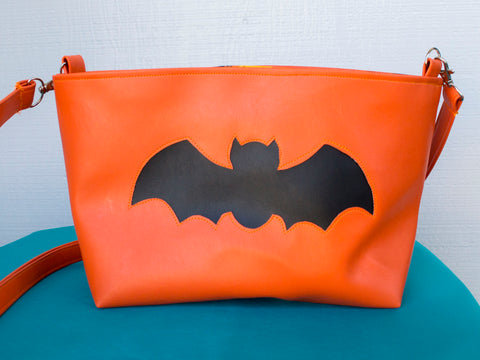 Happy Halloween Bat Medium Tote