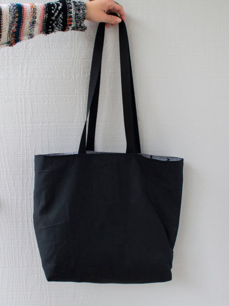 Distressed Salem Witch Tote Bag