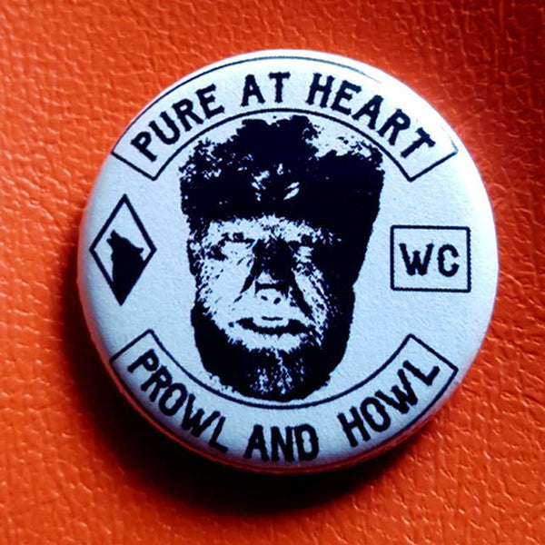 Wolfman Wolf Club 1.25 inch Pinback Button or Magnet