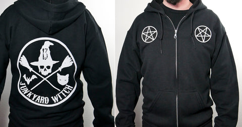 Junkyard Witch Official Hoodie