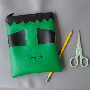 Small Baby Frankenstein Zipper Pouch