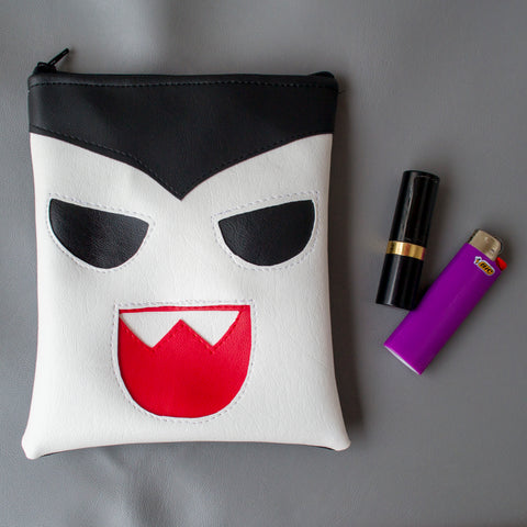 Small Baby Dracula Zipper Pouch