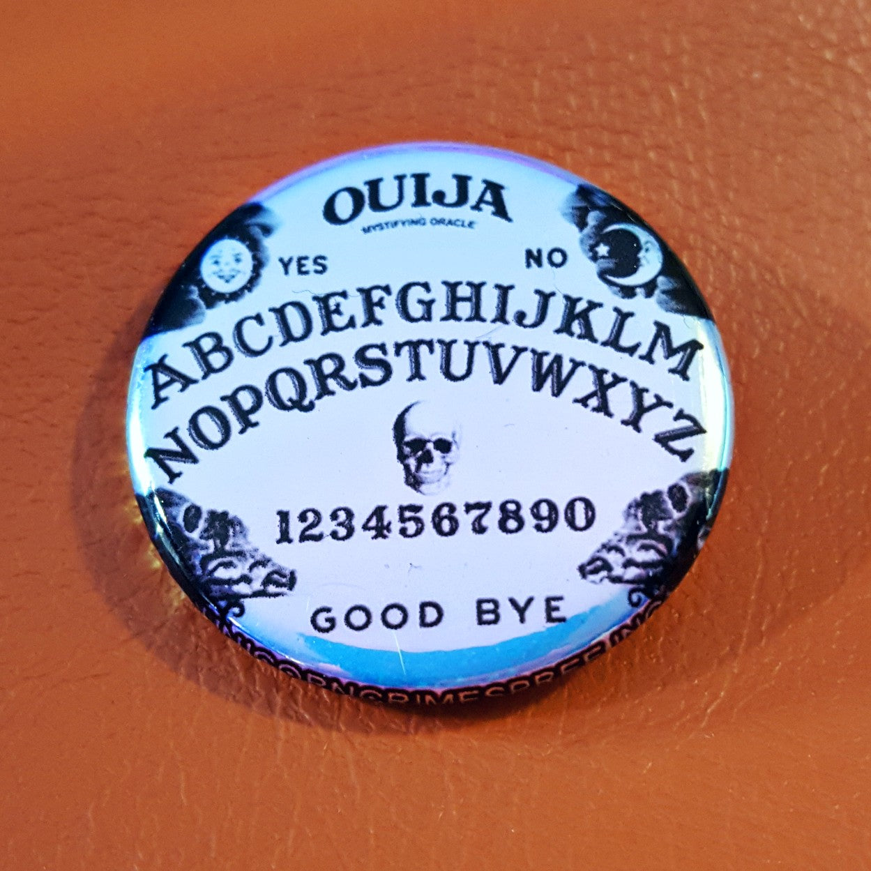 Ouija Limited Edition Iridescent 1.25 inch Pinback Button