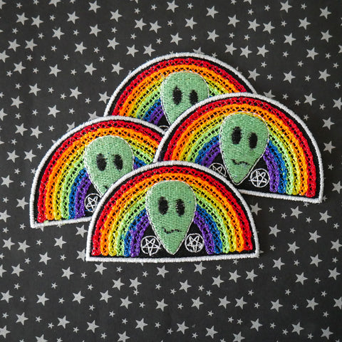 Satanic Alien Pride Patch