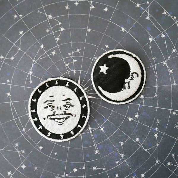 Ouija Sun and Moon Patch Set
