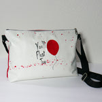 Load image into Gallery viewer, Come Float With Us Pennywise Zipper Purse