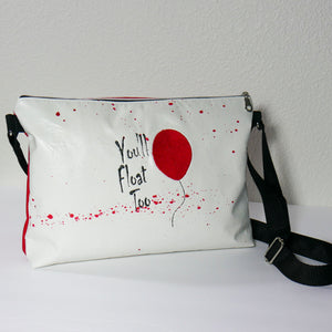 Come Float With Us Pennywise Zipper Purse
