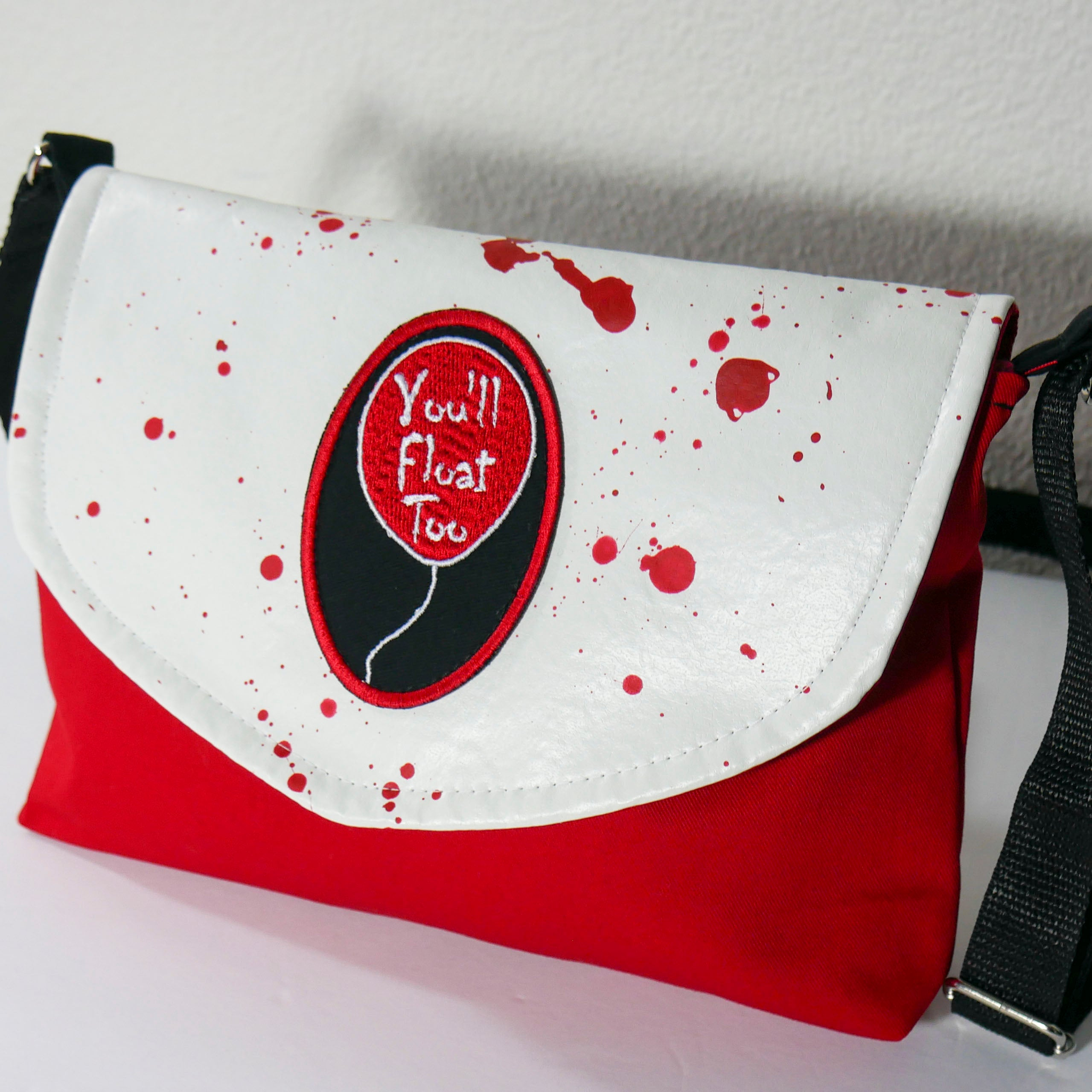 Pennywise Bloody Flapover Purse