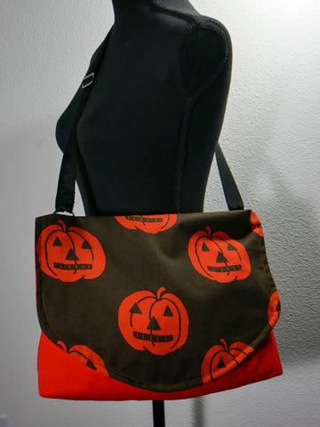 Jack's Pumpkin Party Messenger Bag