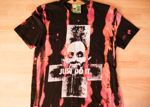 "Just Do It ""Slash and Dyed"" T-shirt"