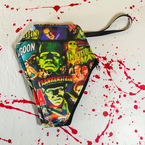 Frankie's Monster Mash Medium Coffin Pouch