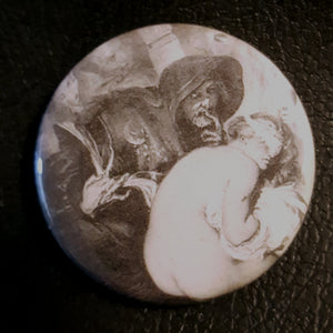 Vintage Witchcraft #10.       1.25 inch Pinback Button or Magnet