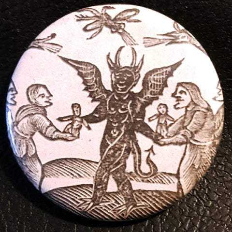 Vintage Witchcraft #11.       1.25 inch Pinback Button or Magnet