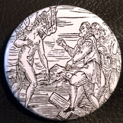 Vintage Witchcraft #13.       1.25 inch Pinback Button or Magnet