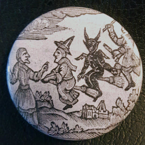 Vintage Witchcraft #1.       1.25 inch Pinback Button or Magnet