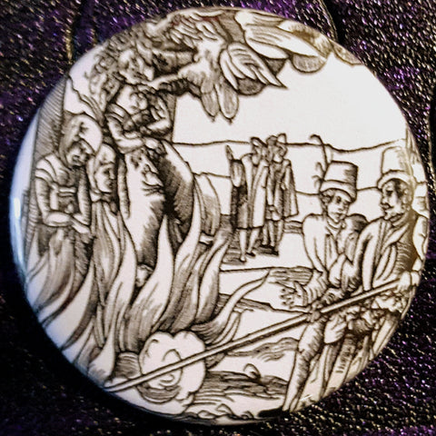 Vintage Witchcraft #9.       1.25 inch Pinback Button or Magnet