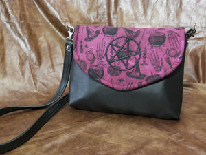 Rose Witch's Flapover Purse