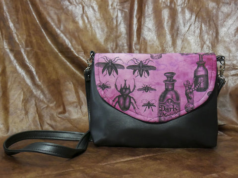 Crimson Creepers and Oddities Flapover Purse