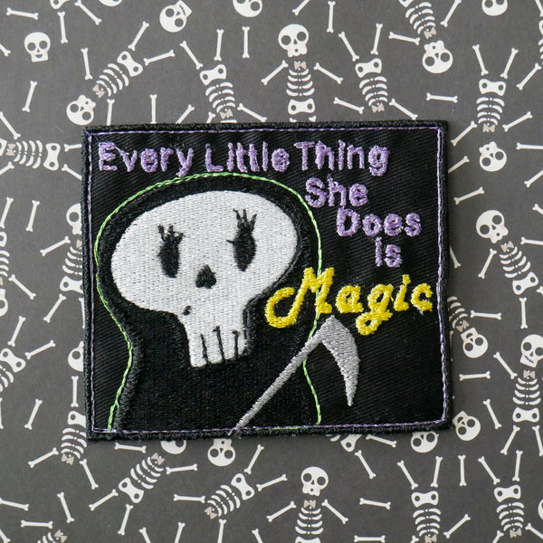 Miss Reaper Every Little Thing is Magic Patch