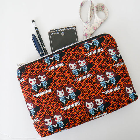 Shining Twins Zipper Pouch