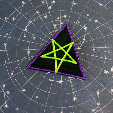 Mini Tri-Pentagram Patch