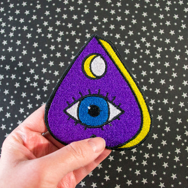 Eye See You Planchette Patch