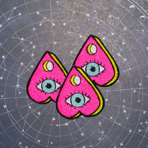 Mini Eye See You Pink Planchette Patch