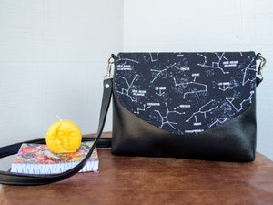 Wish Upon a Constellation Flapover Purse