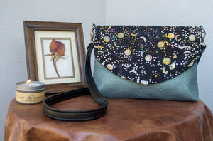 Springtime in the Sky Flapover Purse